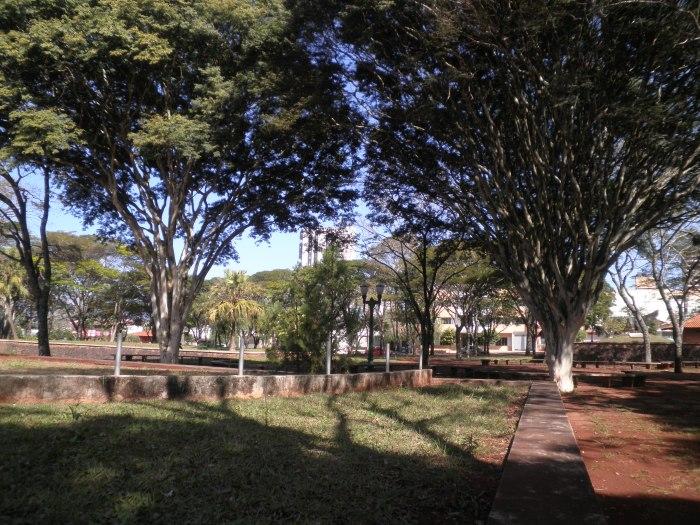 Praça do fórum de Campo Mourão- PR