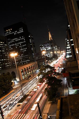 Avenida paulista. Foto: Wagner T. Cassimiro