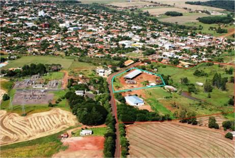 Área abrangida pelo Parque Municipal. Fonte: Prefeitura Municipal de Mamborê, 2010.
