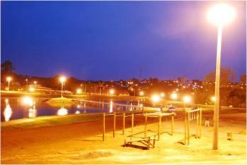 Iluminação noturna em 20 de outubro de 2010. Fonte: Assessoria de Imprensa da Prefeitura.