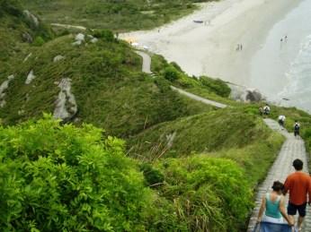 Litoral paranaense - Ilha do Mel. Foto: LIMA, 2007.