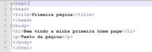 Exemplo de HTML