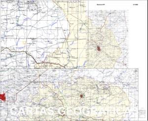 Cartas geográficas