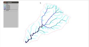 Bacia hidrográfica do Rio Gavião (Mamborê e Luiziana- PR)