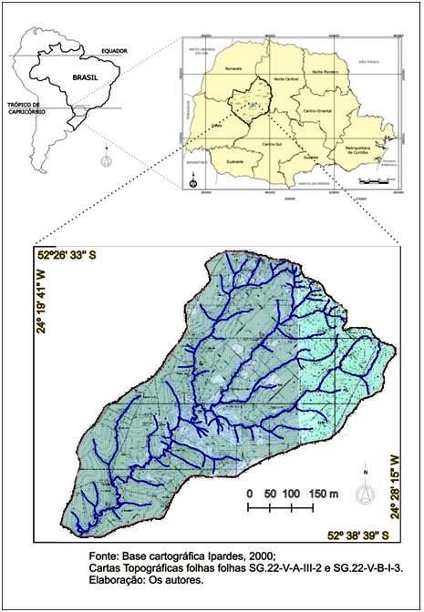 Bacia hidrográfica do  Rio Gavião
