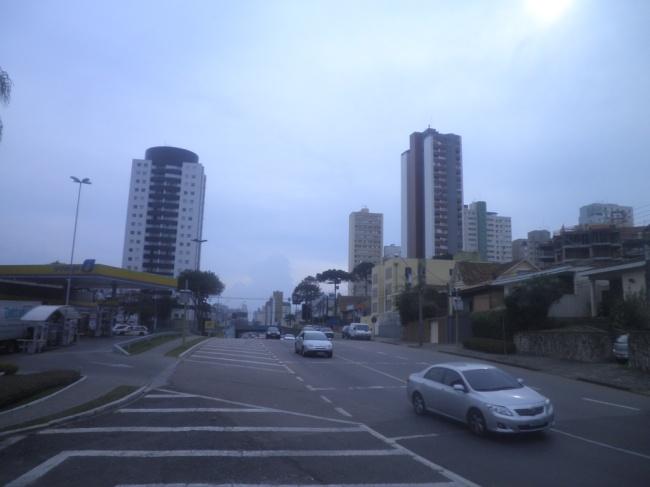 Avenida de Curitiba- PR. Foto: Jonas Henrique Moura de Lima