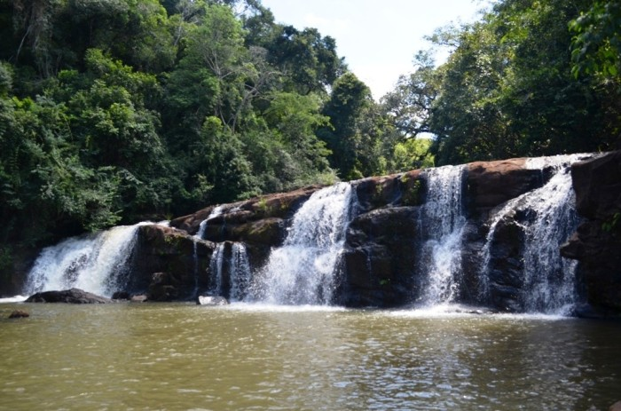 cachoeira parque estadual lago azul